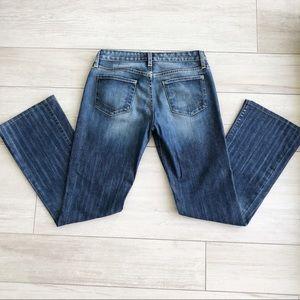 Paper Denim & Cloth Blue Bootleg Jeans